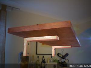 Wooden Shelf with 4K PBR Textures