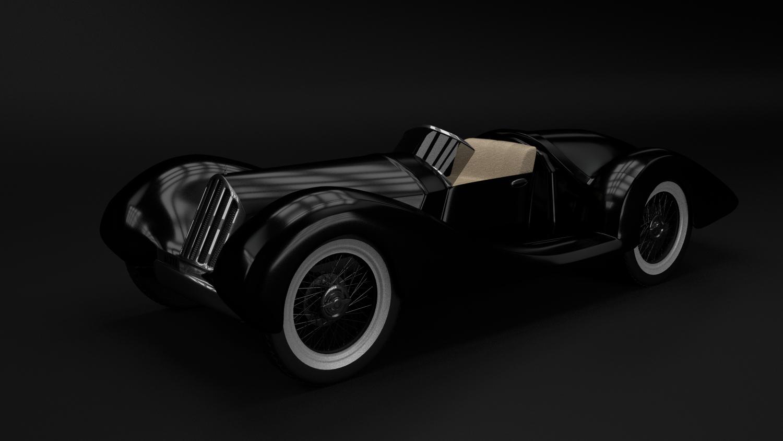 Retro car Free 3D Model in Old Cars 3DExport