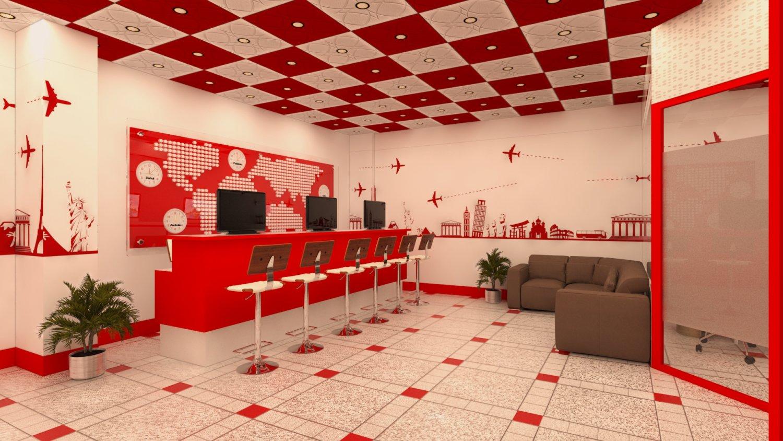 Travel Agency 3D Model In Office 3DExport