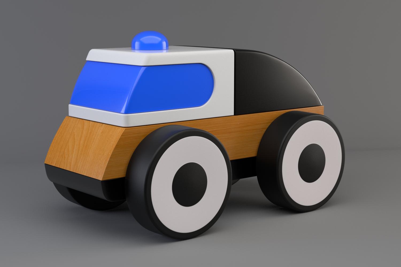 Toy car Lillabo IKEA 3D Model in Toys 3DExport