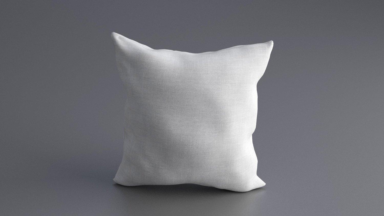 d7ab86593e55ef Solid Pillow 3D Model in Household Items 3DExport