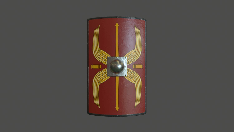 3dexport Roman Modelo Escudo 3d In Shield 34AL5qcRj