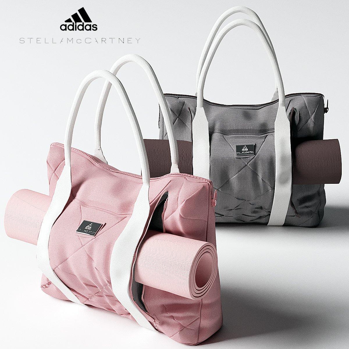 33a3594dfe Adidas Yoga Bag 3D Model in Sports Equipment 3DExport