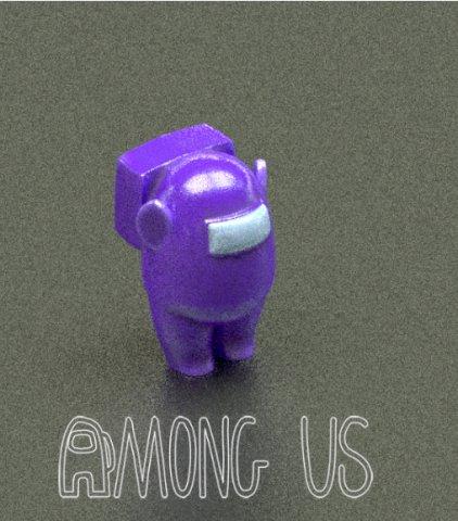 Among Us Teletubbies 3d Model In Figurines 3dexport