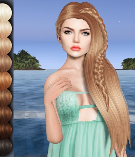 Wink 3d Mesh Hair Obj Dae 3d Model In Other 3dexport