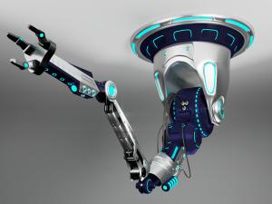 robot arm industrial manufacturing 3d model 3D Models Download