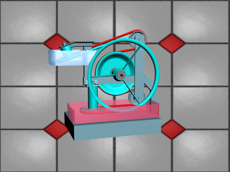 Nitinol engine 3D Model in Other 3DExport
