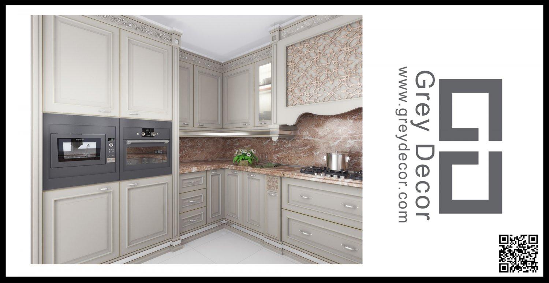 Classic Kitchen 3D Model in Kitchen 3DExport