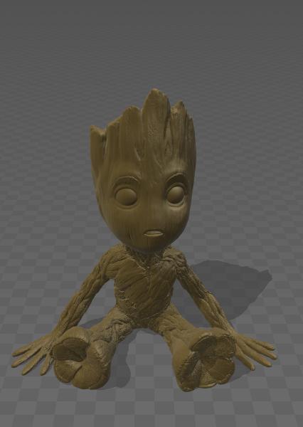 Baby Groot 3d Model In Monsters Creatures 3dexport