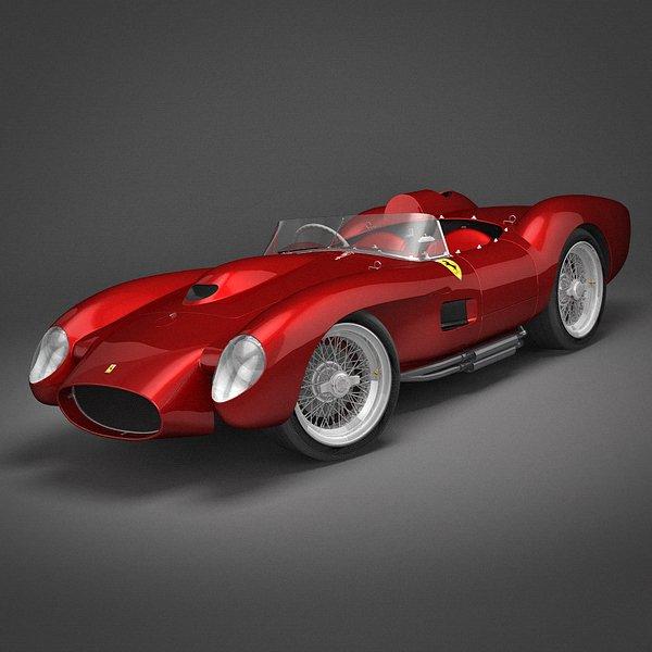 Ferrari 250 Testa Rossa 1957 3D Model In Classic Cars 3DExport