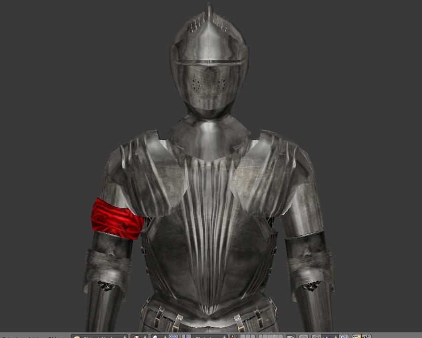 Full plate knight armor 3D Model in Armor 3DExport