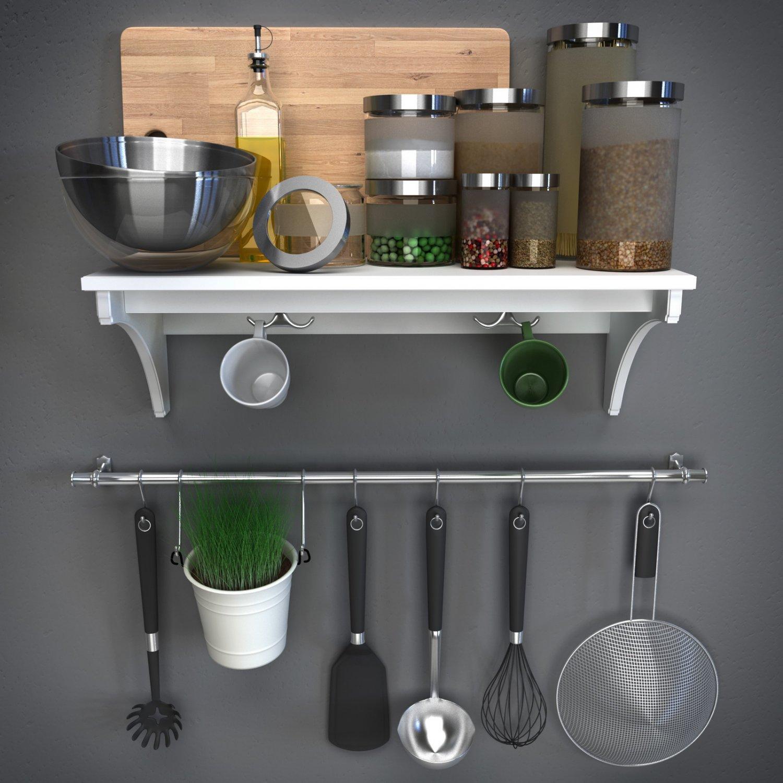 IKEAkitchenware IKEA kitchen accessories 10D Model in Cookware Tools 10DExport
