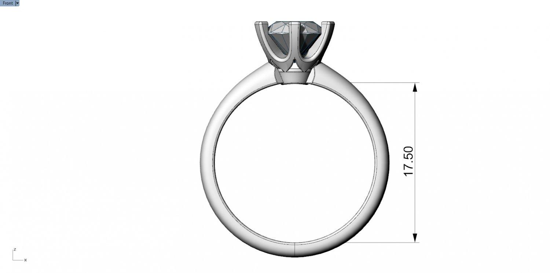 1d565cfc8 Tiffany engagement ring 3D Model in Rings 3DExport