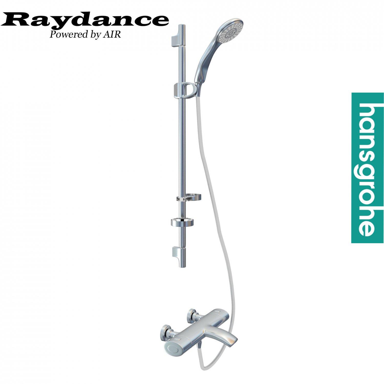 Hansgrohe Raindance shower panel 3D Model in Bathroom 3DExport