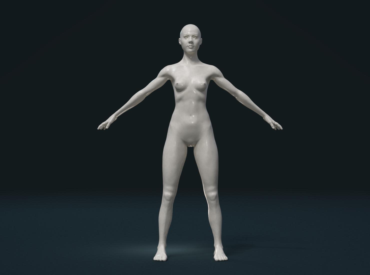 Nakend girl