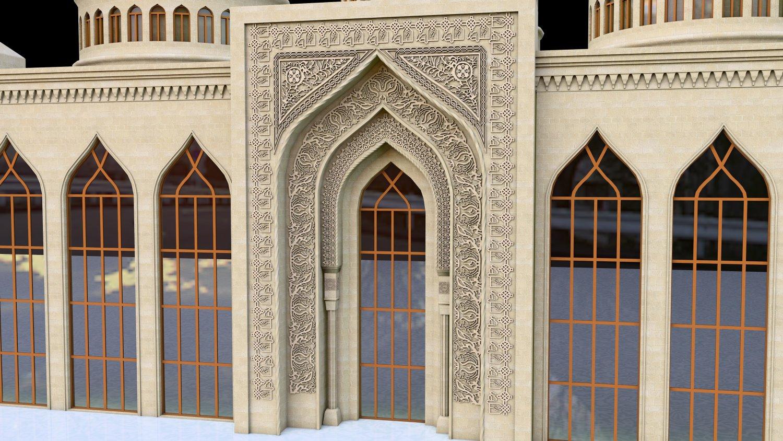 Minaret 3d Model Free