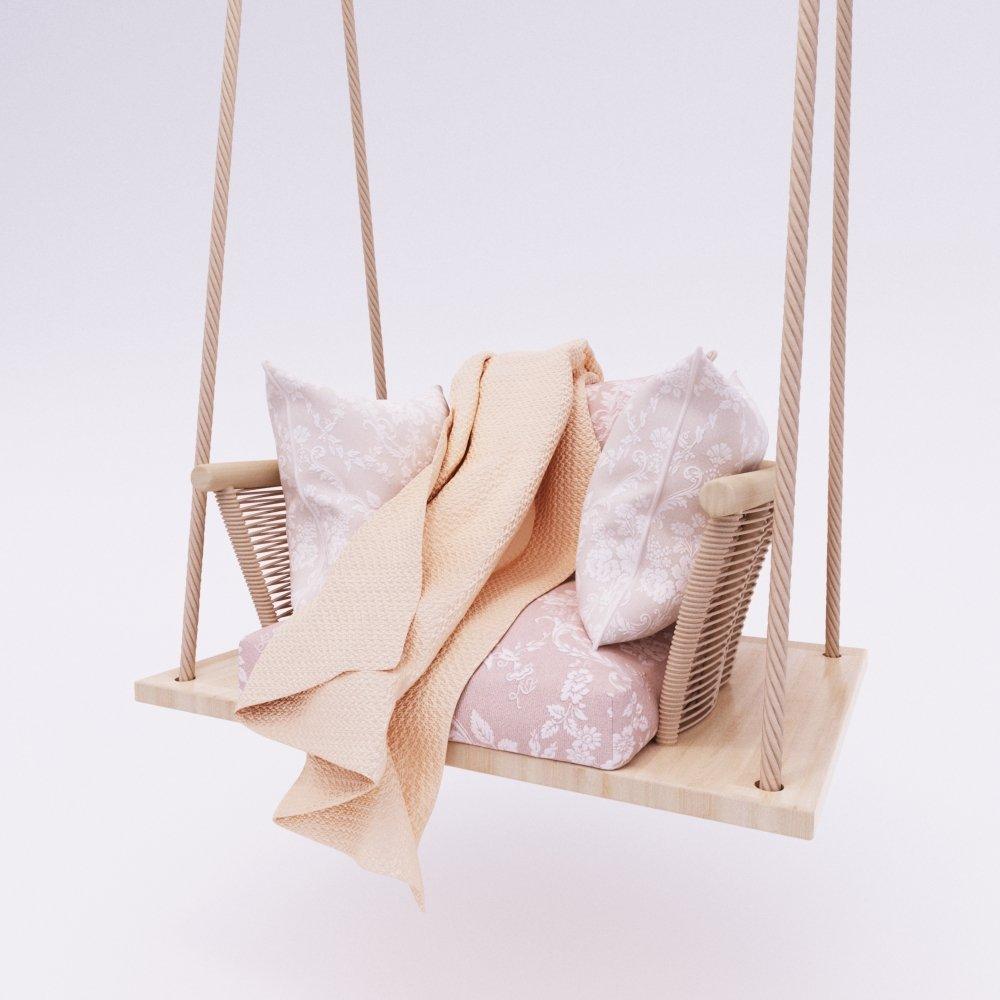 Hanging chair 3D Model in Chair 3DExport