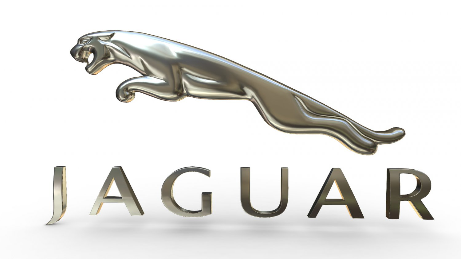 Jaguar logo 3D Model in Parts of auto 3DExport