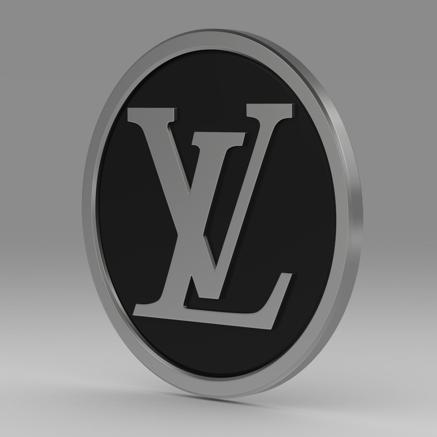 louis vuitton logo 3d model in other 3dexport