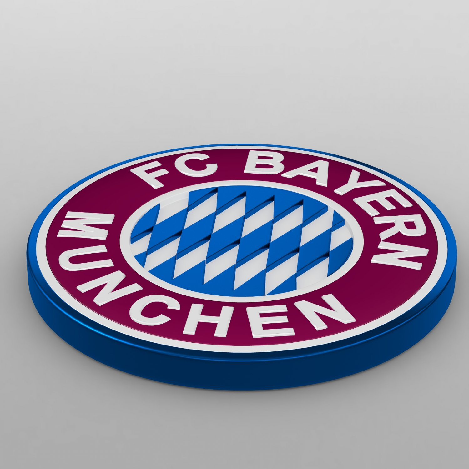 Bayern Munchen Logo 3d Model In Sports Equipment 3dexport