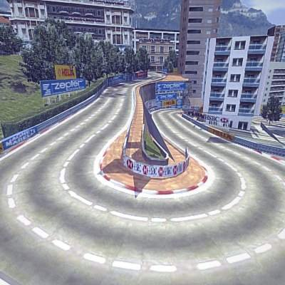 Monaco Montecarlo F1 Race Track Remove Bookmark This Item