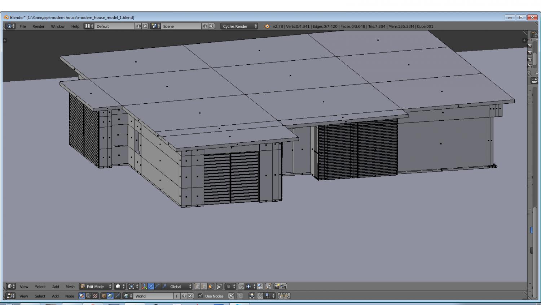 Modern House Moel 3d Model In Buildings 3dexport