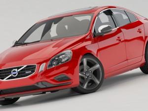 Volvo S60R 2011 3D Model