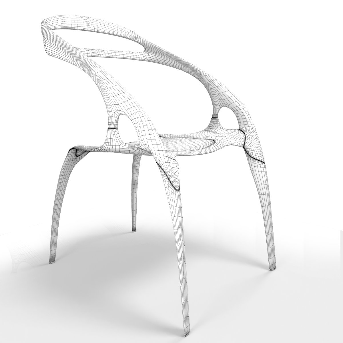 go stacking chair by lovegrove 3d model in chair 3dexport