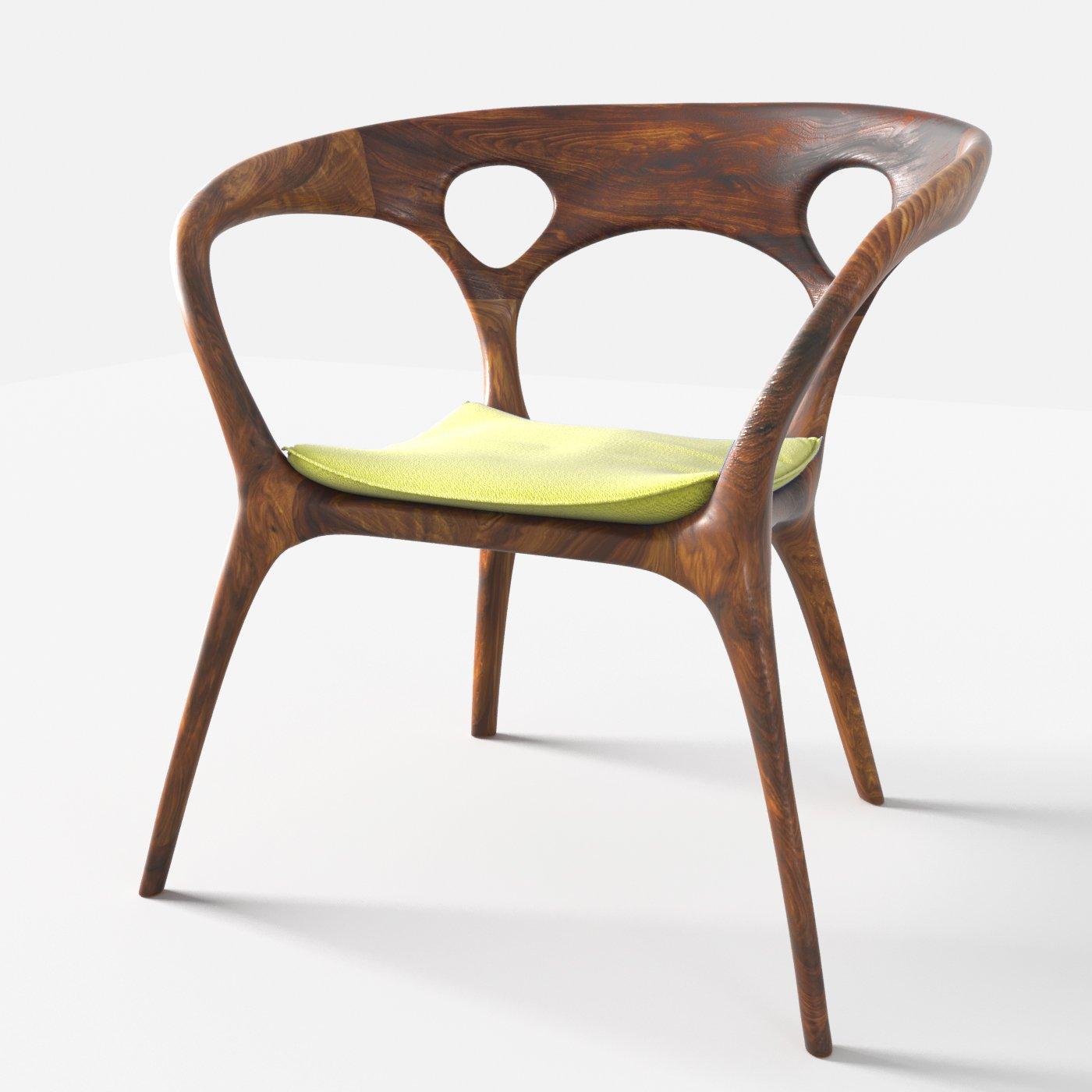 anne chair by ross lovegrove 3d model in chair 3dexport