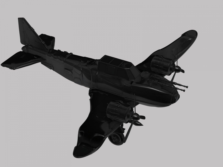 War plane 3D Model in Vehicle 3DExport
