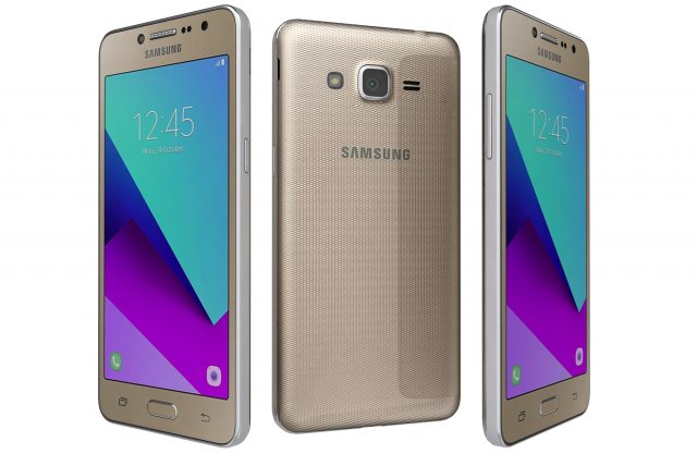 Samsung Galaxy J2 Prime Gold 3D Model