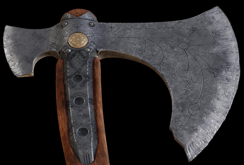 Kratos Leviathan Axe God Of War 3d Model In Melee 3dexport