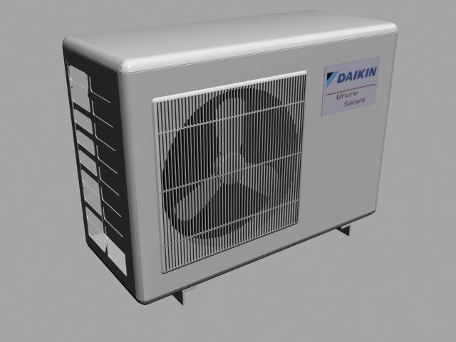 Air Conditioner Fan >> Air Conditioner Fan 3d Model In Diger 3dexport