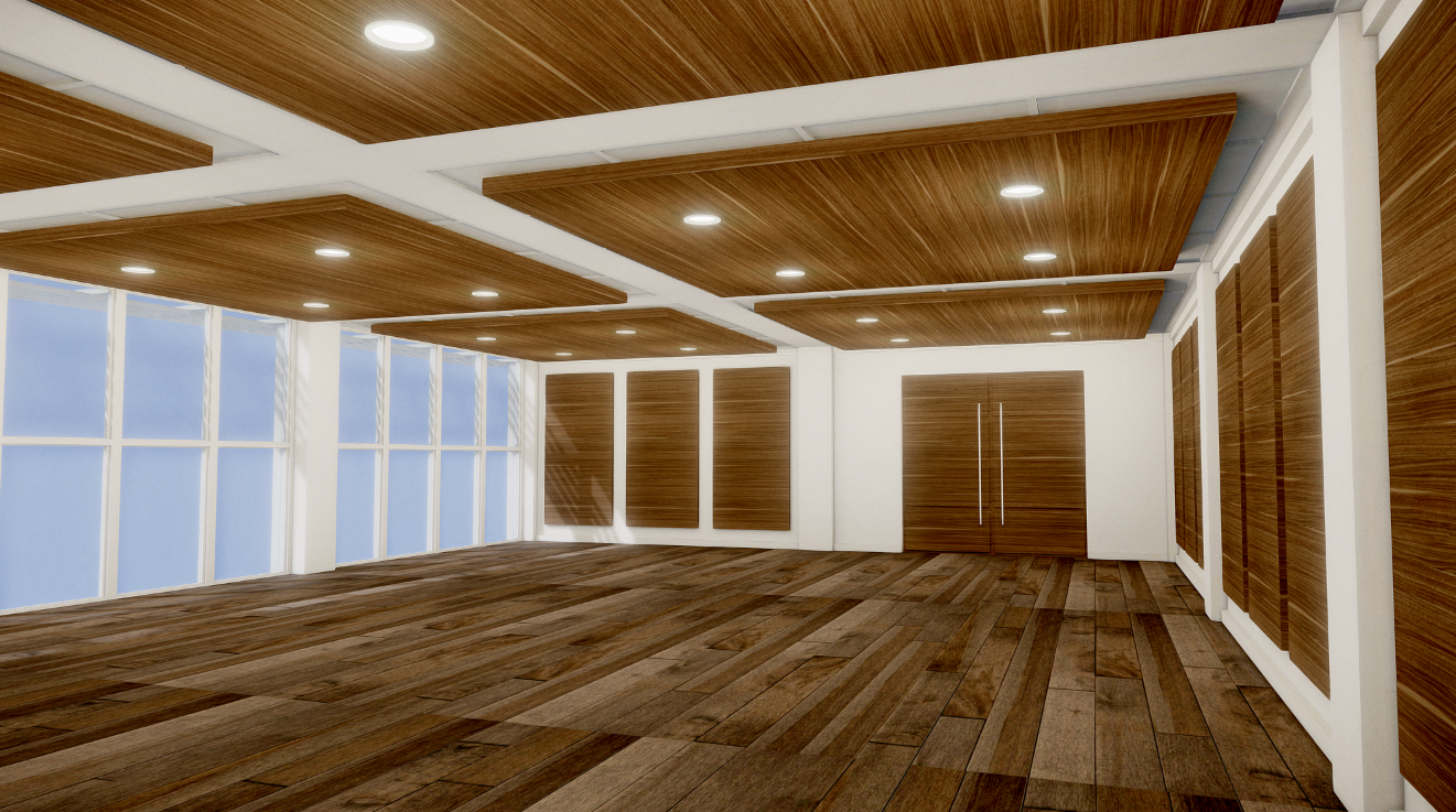 luxury office interior scene free 3d model in office 3dexport