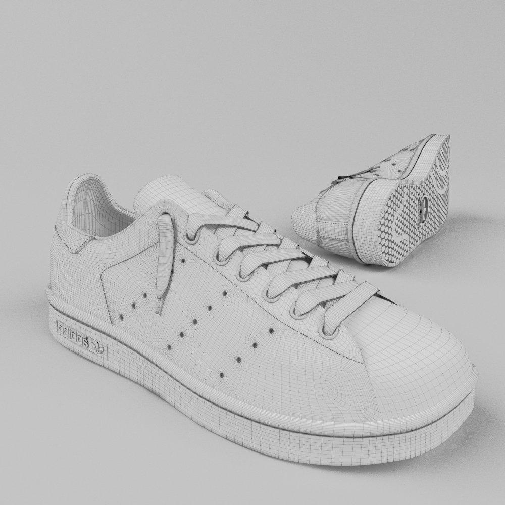 Stan Smith by Adidas Originals 3D Model in Other 3DExport