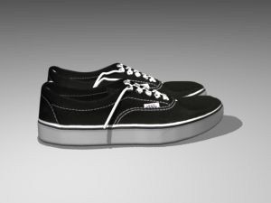 vans shoes 3d model 3D Models Download Available formats