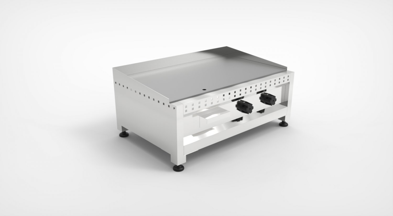 Commercial Grill 3D Model in Cookware Tools 3DExport