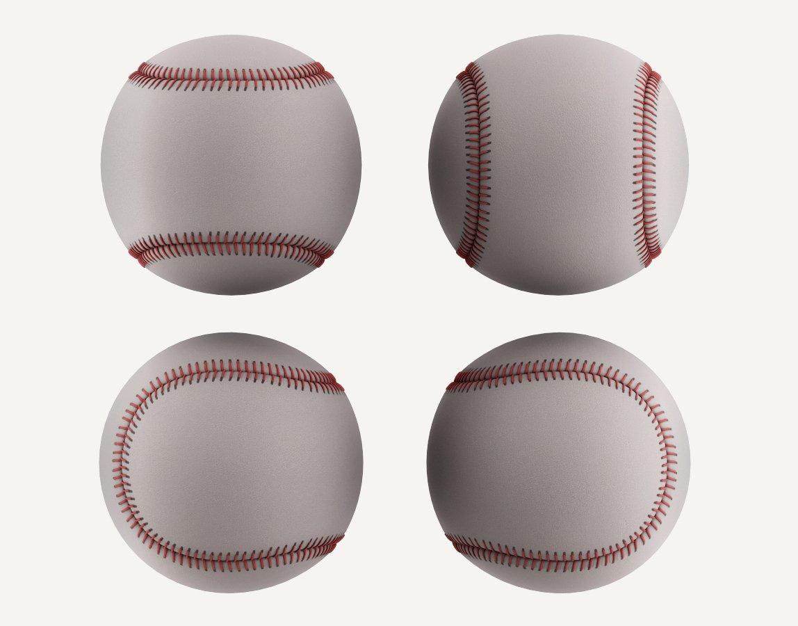 ee8fb0581d Baseball Ball model 3D Model in Sports Equipment 3DExport
