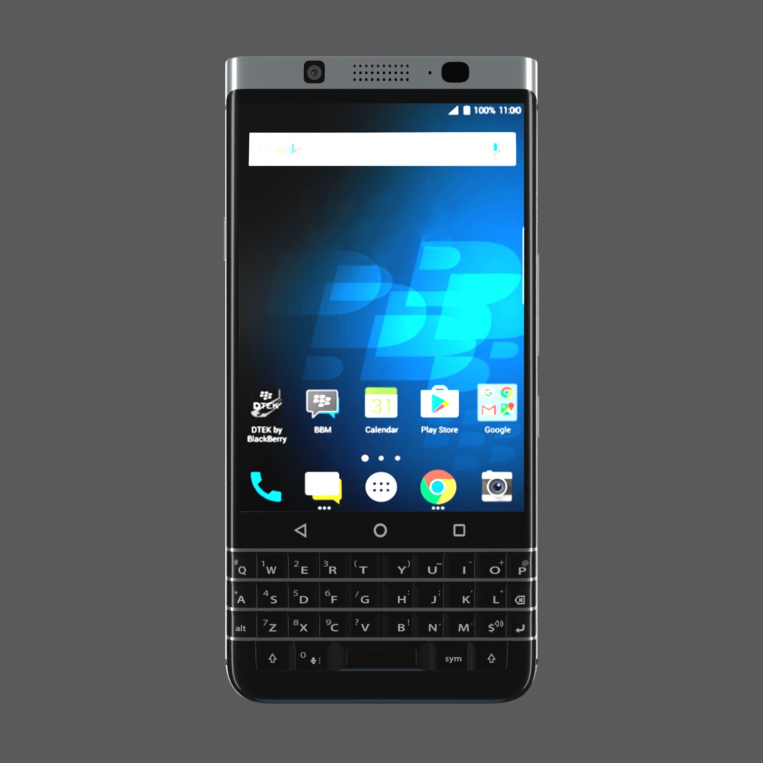 Blackberry Keyone 3d Model In Phone And Cell 3dexport
