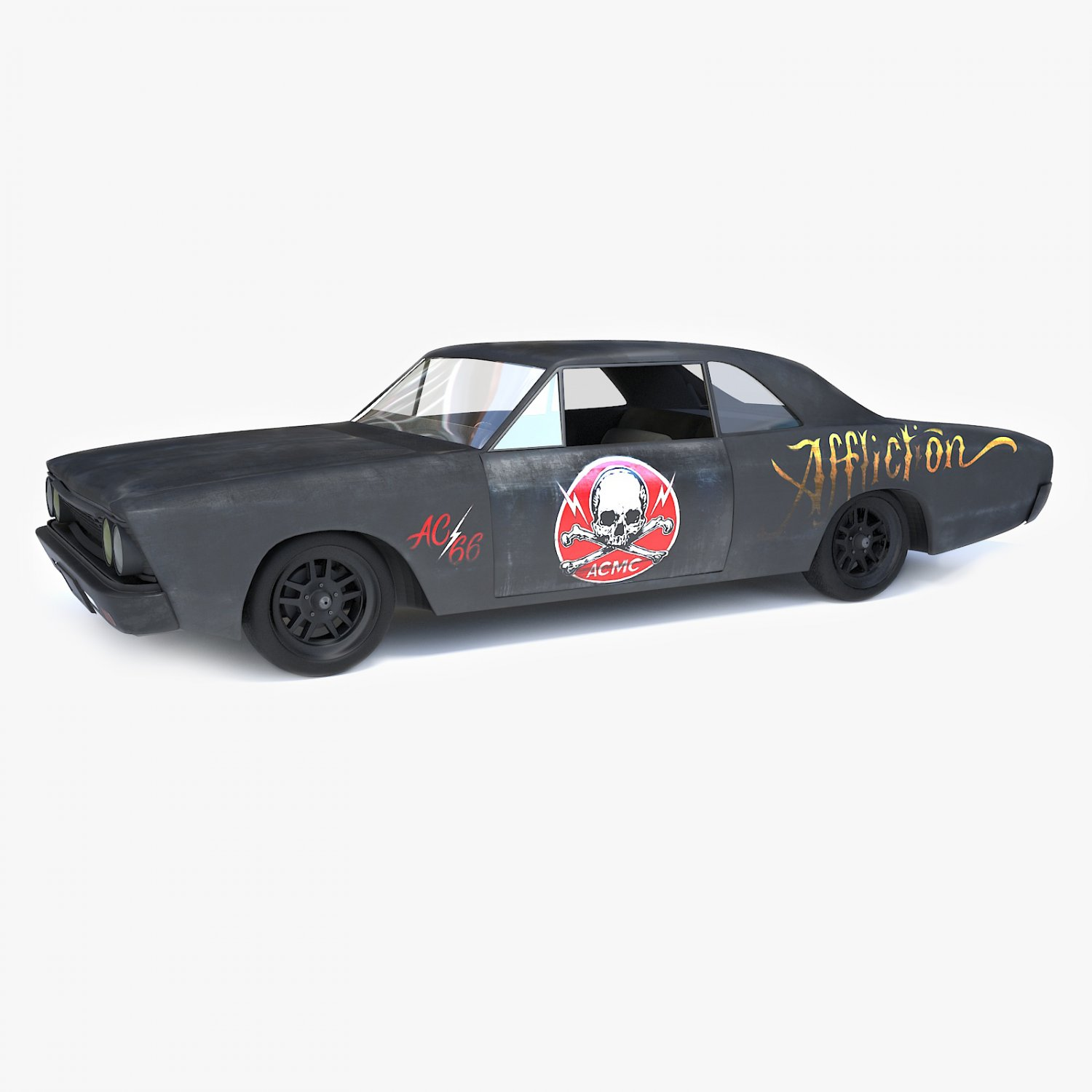 Old Black Car 3d Model In Old Cars 3dexport