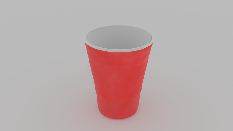Red Solo Cup 3D Model in Cookware Tools 3DExport