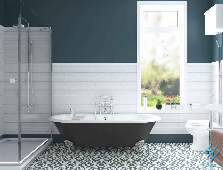 Bathroom d model in badkamer dexport