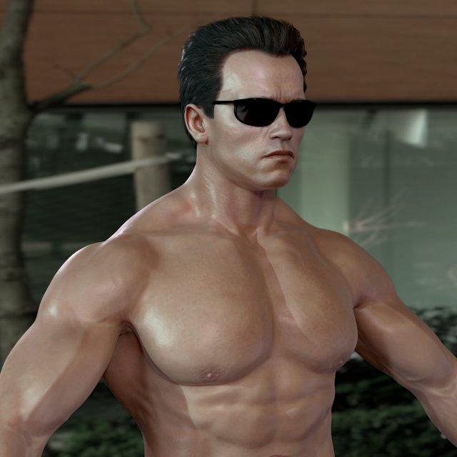 5b20dfde2a4 bodybuilder 3D-Modelle - Download 3D bodybuilder Available formats  c4d