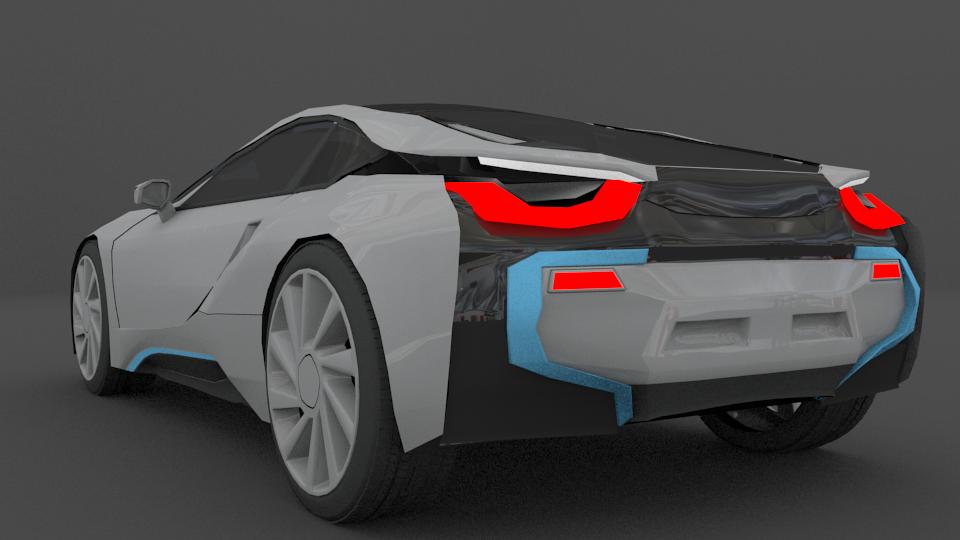 Bmw i8 files blend obj maya fbx 3d model in racing 3dexport sciox Image collections
