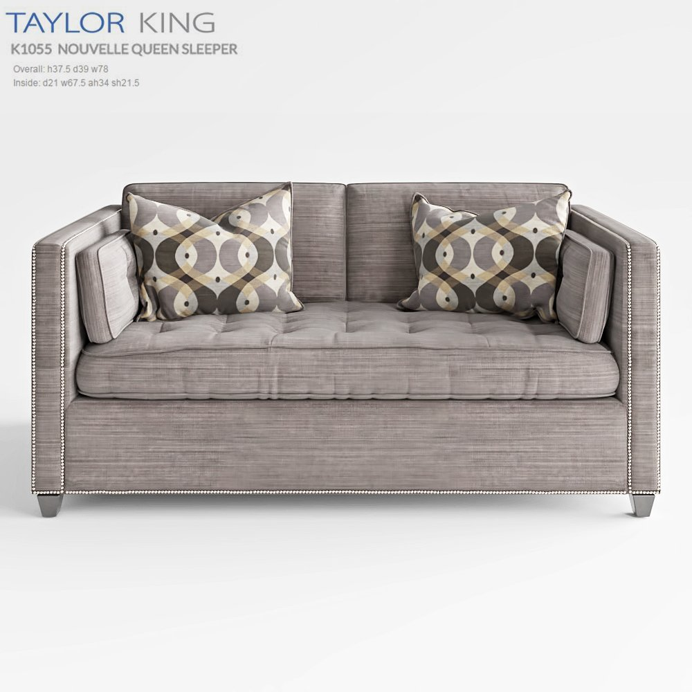 TAYLOR KING NOUVELLE QUEEN SLEEPER 3D Model
