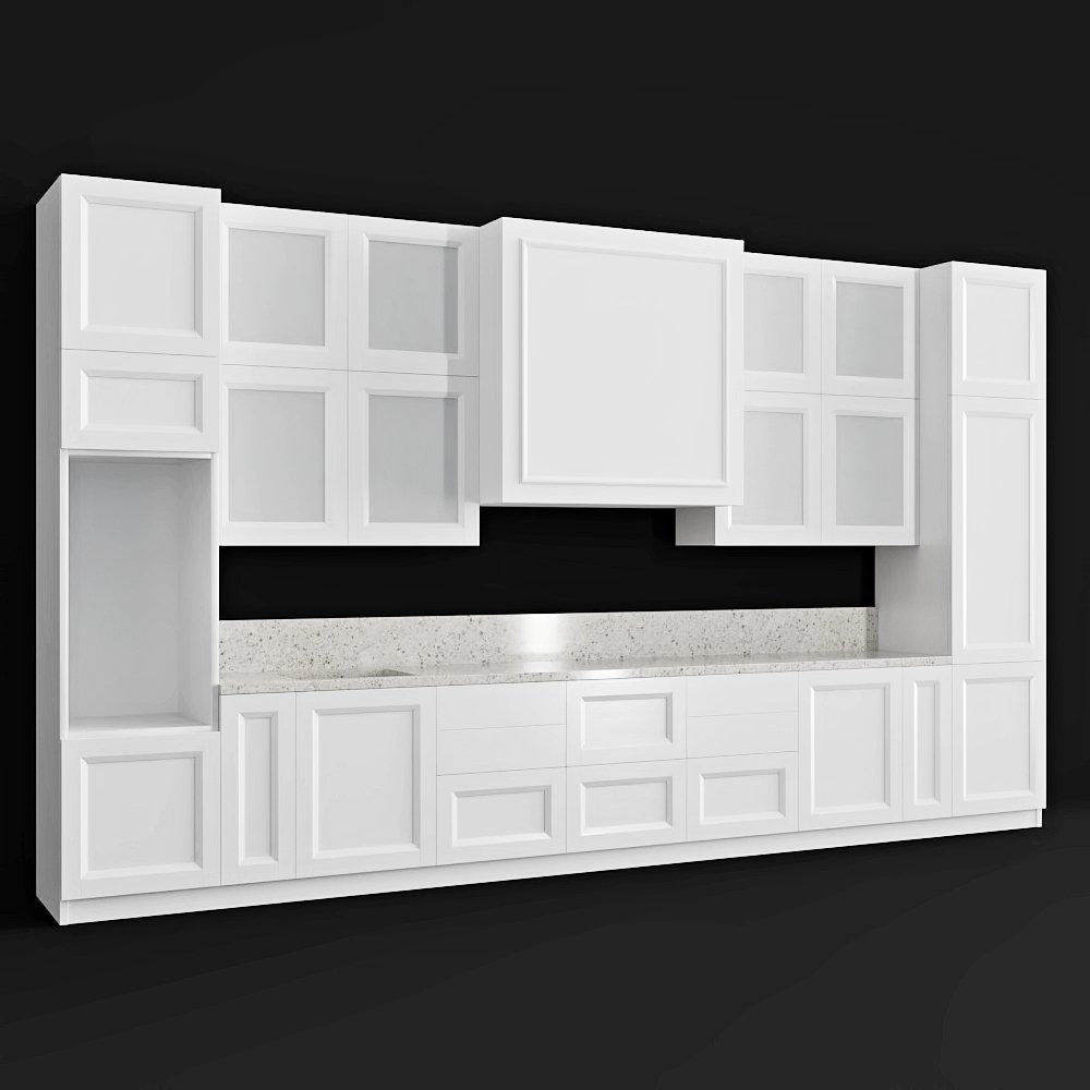 Scavolini Regard Esprit Modello 3D in Cucina 3DExport