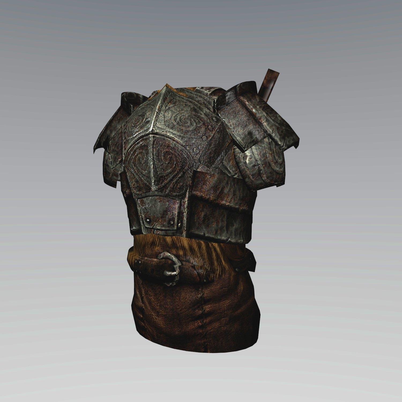 Ancient armor 3D Model in Armor 3DExport