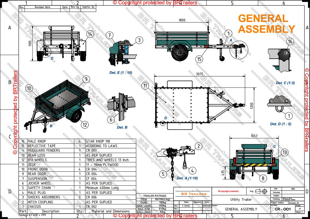 Wrg 8370 Utility Trailer Schematics