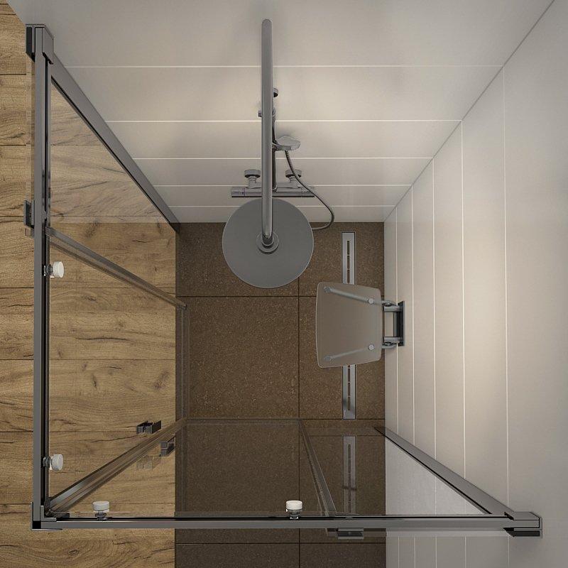 Shower room RAVAK Matrix 3D Model in Bathroom 3DExport