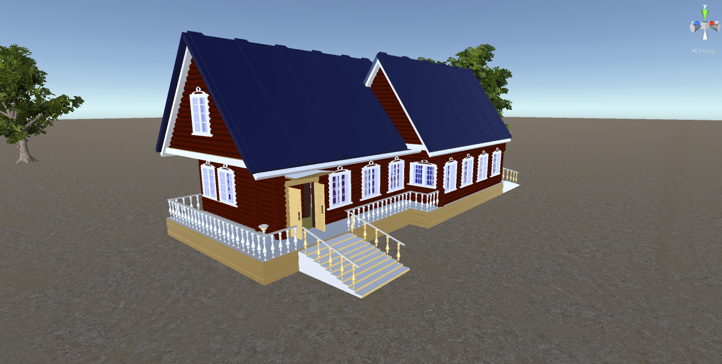Captivating Russian Wooden House In Siberian Village   2   For Games 3D Model In  Buildings 3DExport
